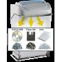 Kobra 240 SS5 Turbo (Strip Cut) Paper Shredder