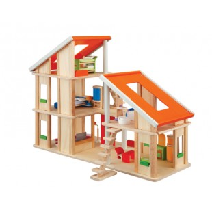 Plantoys Chalet Dollhouse with Furniture PT7602 price in Pakistan