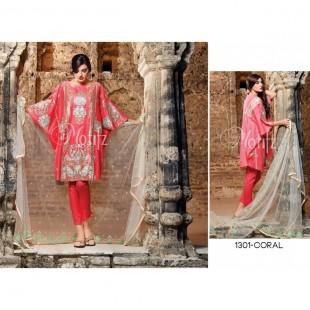 Motifz by Sanaulla MT16L 1301 Coral price in Pakistan