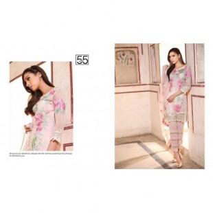 Charizma Pure Chinese Chiffon Suit (CH16E2 55) price in Pakistan