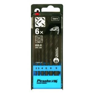 Black & Decker X56010 2/3/4/5/6/8mm Metal Drill Bit Set price in Pakistan