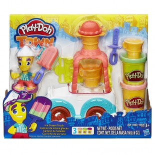 Hasbro Play-Doh Town Ice Cream Truck PD-B3417EU40 price in Pakistan