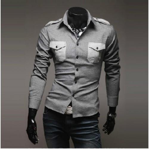 29e7298946d Double Pocket Oxford Men Casual Shirt price in Pakistan