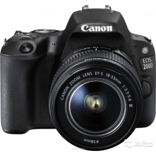 Canon EOS 200D + 18-55mm DC III + 55-250mm IS STM Digital Cameras price in Pakistan