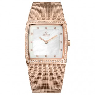 Obaku Women Watch (Rose gold) V172LEVWMV price in Pakistan