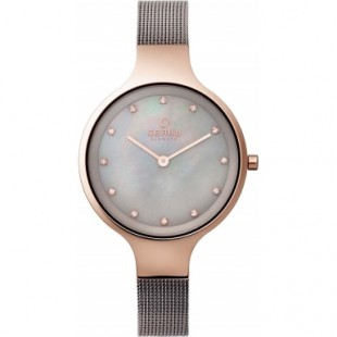 Obaku Ladies Titanium Grey Steel Mesh Bracelet Watch V173LXVJMJ price in Pakistan