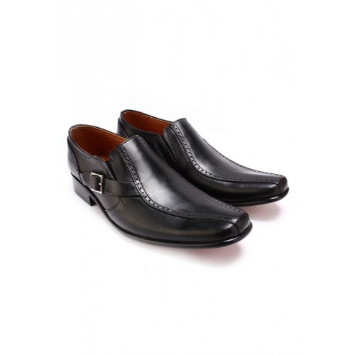 Black Formal Genuine Leather Gbh Formal Shoes Price In Pakistan