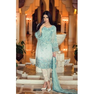 Maria.B MBROIDERED Collection (Unstitched) BD: 3 price in Pakistan