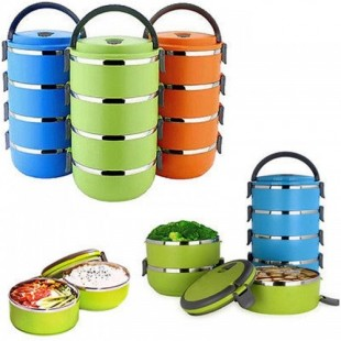 4 Layer Stainless Steel Lunch Box price in Pakistan
