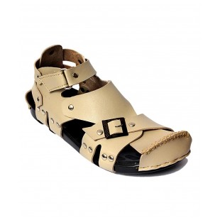 Off-White High Ankle Straps Casual Sandal 2 price in Pakistan