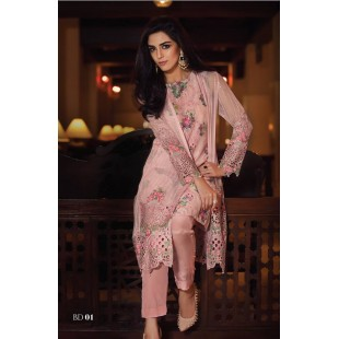 Maria.B MBROIDERED Collection (Unstitched) BD: 1 price in Pakistan
