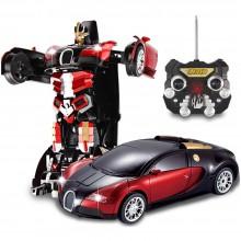 Remote Control Transformation Robot Car