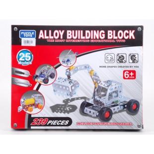 Alloy Building Block 239 pcs price in Pakistan