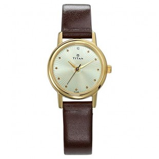 Titan Karishma Revive Women's Watch Brown (2593YL01) price in Pakistan