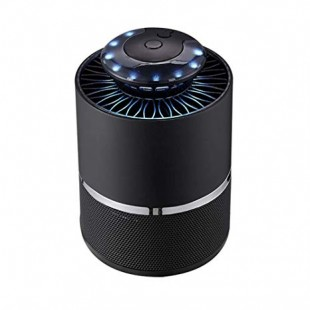 5W LED Mosquito Killer Lamp Non-Radiative Pest Mosquito Trap Light For Camping - Black price in Pakistan