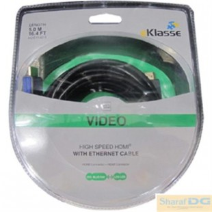 Eklasse HDE1140 HDMI Cable W/ Ethernet 5M price in Pakistan