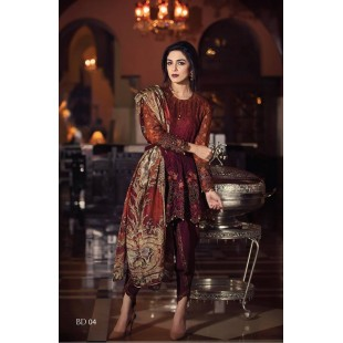 Maria.B MBROIDERED Collection (Unstitched) BD: 4 price in Pakistan