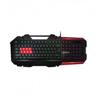 A4tech Bloody B3590R 8 Light Strike Mechanical Gaming Keyboard Black And Grey price in Pakistan
