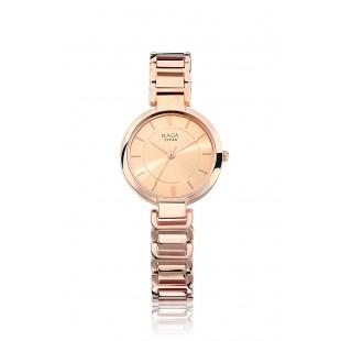 Titan Rose Gold Analog Watch for Women - 2608WM01 price in Pakistan