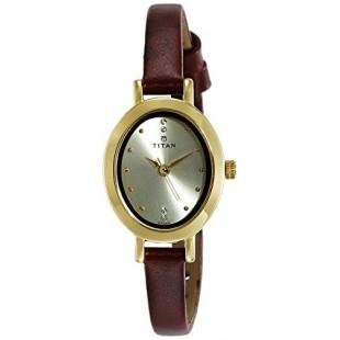 Titan Karishma Women's Watch Brown (2599YL01) price in Pakistan