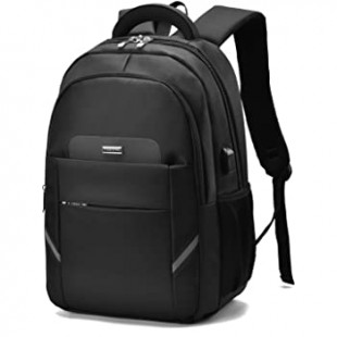TAWANG 15.6 T8807-Black USB Design Casual Style Travel Backpack price in Pakistan