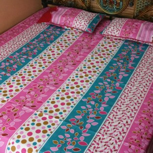 Pink and Blue Bedsheet 03 price in Pakistan
