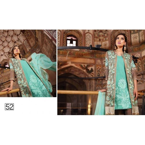c02cddd2d4 Charizma 3 Piece Embroidered Chiffon Suit (CH16E2 52) price in Pakistan