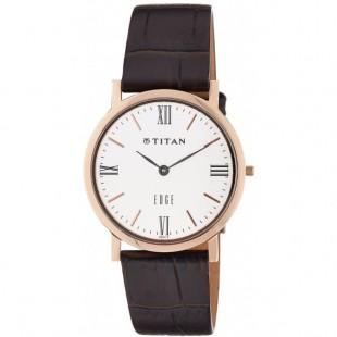 Titan Edge Men's Watch Brown (679WL01) price in Pakistan