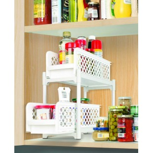 Ideaworks Portable 2-Tier Basket Drawers price in Pakistan