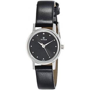 Titan Karishma Revive Women's Watch Black (2593SL01) price in Pakistan