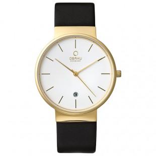 Obaku Men Watch (Gold and Black) V153GDGWRB price in Pakistan