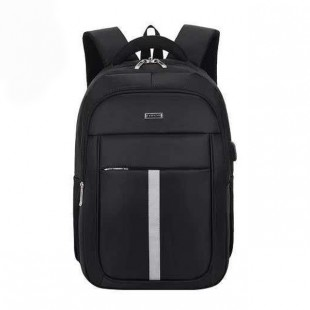 TAWANG 15.6 T8802-Black USB Design Casual Style Travel Backpack price in Pakistan