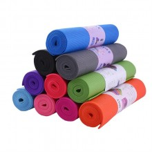 Exercise/Yoga Mat All-Purpose Extra Thick High Density Anti-Tear Yoga Mat 6mm Thick, size (173-61CM)