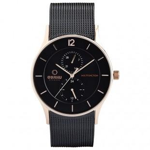 Obaku Men Stainless Steel Watch V157GMVBMB price in Pakistan