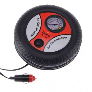 12V Portable Air Compressor Wheel 260psi Tyre Inflator Pump Car Auxiliary Tools Tire inflation pump Air Compressor price in Pakistan