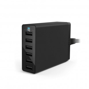 Anker PowerPort 6 -60W 6 Port USB Charger – Black (A2123J12 ) price in Pakistan