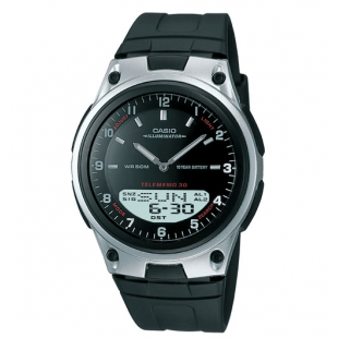 Casio Watch AW-80D-1AVDF with black strap price in Pakistan