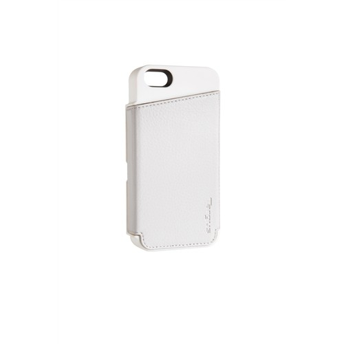 new style 06386 d20c1 Targus Wallet Case for iPhone 5 (Lily White) THD02212AP