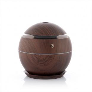 InnovaGoods Mini Humidifier Aroma Diffuser Dark Walnut price in Pakistan