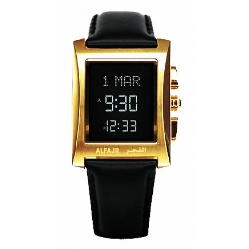 Image result for Al Fajr Digital Watch WL-08 - Golden