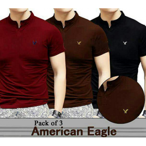 American Eagle T Shirt Pack Of Three Price In Stan