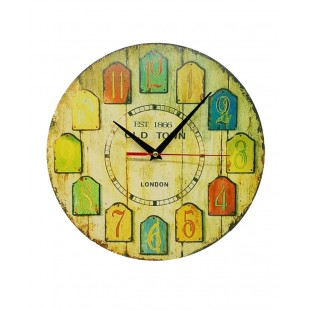 Antique Design Wooden Wall Clock price in Pakistan