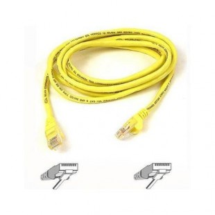 Belkin Cat6 Snagless Patch Cable, 3 Feet Yellow (A3L980-03-YLW-S) price in Pakistan