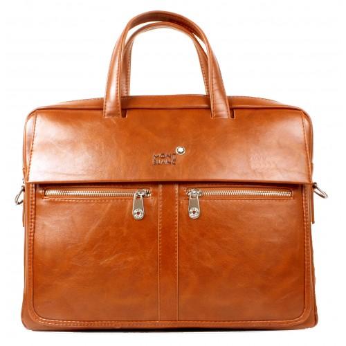 MONT BLANC Brown Laptop Bag price in Pakistan at Symbios.PK bbfc039d742e
