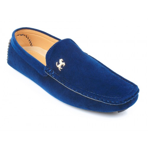 609870ef738 Navy Blue Stylish Ferrari Loafers SYB-572 price in Pakistan at ...