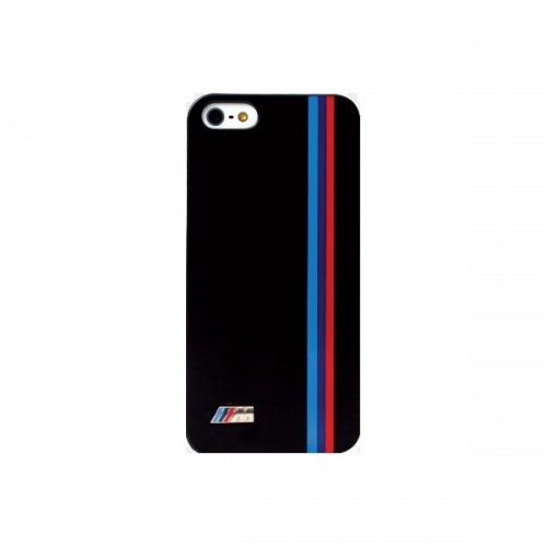 best loved e3ddb 1866a BMW Hard Case for iPhone 5 Rubber Finish - Black