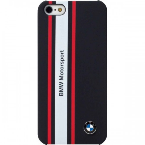 sale retailer 4c5e5 7a16b BMW Hard Case for iPhone 5 Rubber Finish - Navy Blue