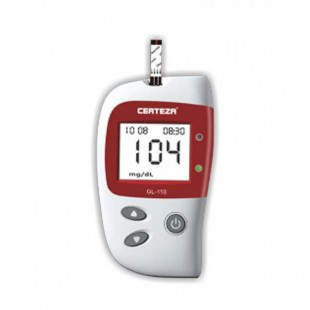 Certeza Blood Glucose Monitor (GL-110) with 10 strips. price in Pakistan