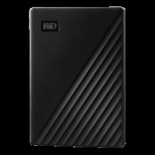 WD My Passport 1TB External USB 3.0 Portable Hard Drive - Black (2 years Warranty )