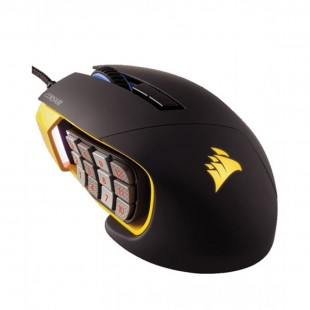 Corsair SCIMITAR PRO RGB Optical MOBA/MMO Gaming Mouse — Yellow price in Pakistan